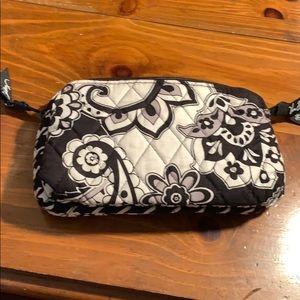 Vera Bradley double zip cosmetic case